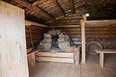 wiek domowy rosyjski drewniany x zdjęcie stock