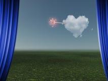 Wiek van Liefde vector illustratie