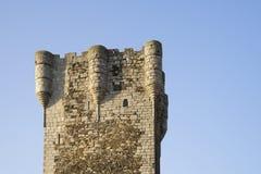 15 wiek wierza hołd kasztel Monleà ³ n, Salamanca, Hiszpania zdjęcia royalty free