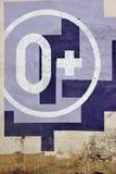 0+ wieka ograniczenia znaka symbol Obraz Royalty Free