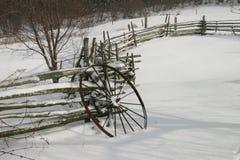 Wiel II van de winter Royalty-vrije Stock Foto