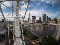 Wiel van Brisbane stock afbeeldingen