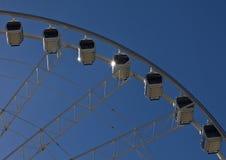 Wiel van de observatiewiel van Brisbane Royalty-vrije Stock Afbeeldingen