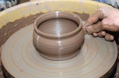 Wiel van de pottenbakker 2 Royalty-vrije Stock Afbeelding