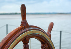 Wiel van een boot Stock Afbeeldingen