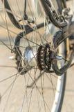 Wiel van een fiets Stock Foto