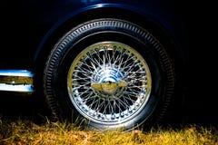Wiel van een klassieke auto royalty-vrije stock fotografie