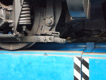 Wiel van locomotief Royalty-vrije Stock Fotografie