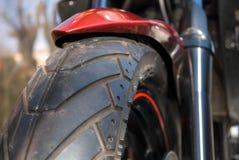 Wiel van motorfiets Royalty-vrije Stock Afbeelding