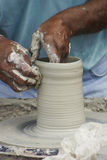 Wiel van pottenbakkers 2 Royalty-vrije Stock Foto