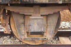 Wiel van trein Stock Afbeeldingen