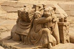 wielbłąd piaskowaty Zdjęcie Stock
