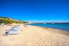 Wielbłąd plaża, Bodrum, Turcja zdjęcie royalty free