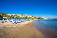 Wielbłąd plaża, Bodrum, Turcja obraz royalty free