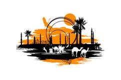 wielbłądy Obraz Royalty Free