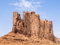 Wielbłądzi Butte jest gigantycznym piaskowcowym formacją w Pomnikowym Valle Zdjęcia Royalty Free