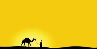 wielbłądzi dzień Obraz Royalty Free