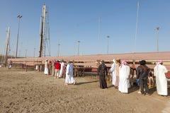 Wielbłądzi tor wyścigów konnych w Doha, Katar obrazy stock