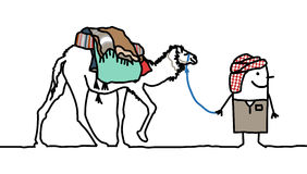 wielbłądzi tuareg royalty ilustracja