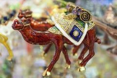Wielbłądzia pamiątka od Dubaj Zdjęcia Royalty Free