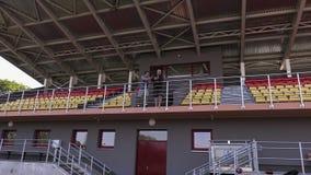 Wielbiciele sportu na stadium zdjęcie wideo