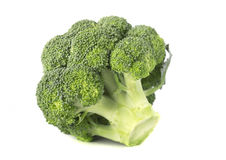 Wielcy brokuły odizolowywający Obraz Stock