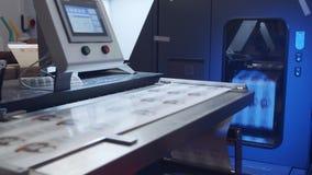 Wielcy przemysłowi cyfrowej drukarki drukowi prześcieradła papier zbiory