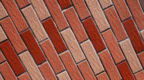 Wiele ściana z cegieł tło Fotografia Royalty Free