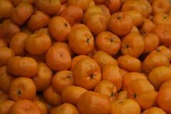 Wiele świeża pomarańcze Zdjęcia Stock