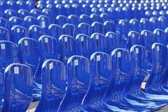 Wiele błękitny klingeryt liczący krzesło zdjęcia stock