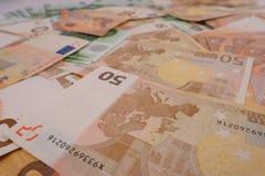 Wiele banknoty 1 Zdjęcia Stock