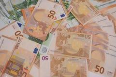 Wiele banknoty Fotografia Royalty Free