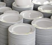Wiele biel puchary Zdjęcie Stock