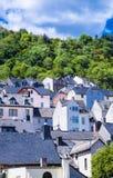 Wiele dach domy w Idar-Oberstain Obrazy Stock