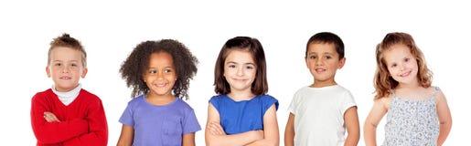 Wiele dzieci fotografia royalty free