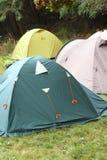 Wiele igloo miewa skłonność w obozie Obraz Royalty Free