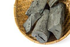 Wiele kawałki węgiel drzewny Obraz Royalty Free
