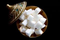 wiele kawałków cukier Obraz Stock