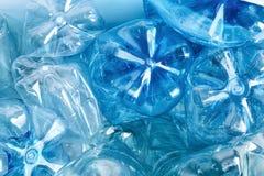 Wiele klingeryt butelki jako tło, zbliżenie obrazy stock