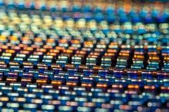 Wiele kolorowe metal spirale jako tło zdjęcie stock