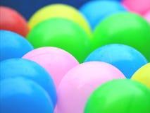 Wiele Kolorowe Pastic piłki Fotografia Stock