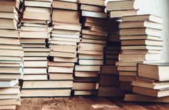 Wiele książek tło Obraz Royalty Free