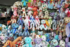 Wiele lale, pamiątki od Rosja Obrazy Stock