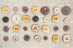 Wiele mali oryginałów guziki Obrazy Stock