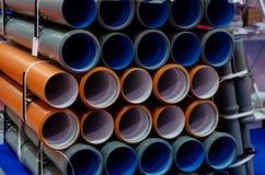 Wiele nowe PVC klingerytu drymby obraz stock
