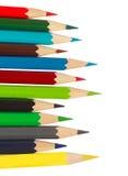 wiele ołówki Fotografia Royalty Free