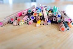wiele ołówki Obraz Royalty Free