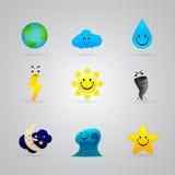 Wiele różne malować kolor ikony royalty ilustracja