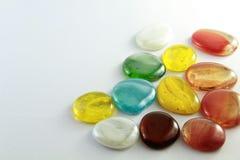 Kamienie w pięknych kolorach obraz stock