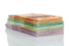 Wiele różni euro rachunki Obraz Stock